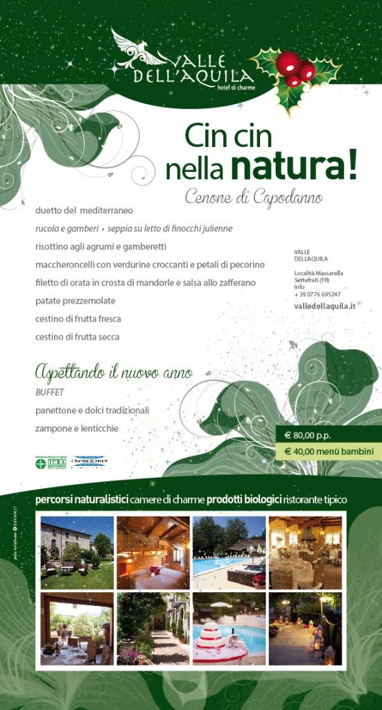 Veglione a Valle dell'Aquila: il nostro brindisi nella natura