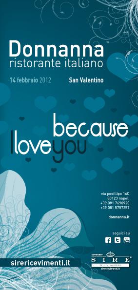 Ristorante Donnanna, per un San Valentino 2012 esclusivo